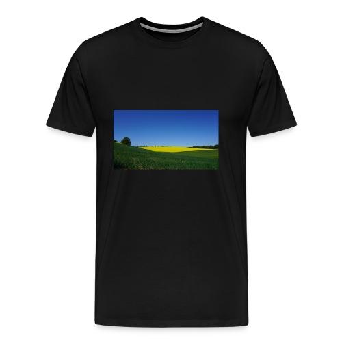 Rapsfeld - Männer Premium T-Shirt