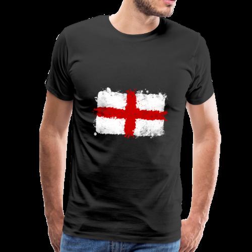 Großbritannien Flagge, Englandfahne, great britain - Männer Premium T-Shirt