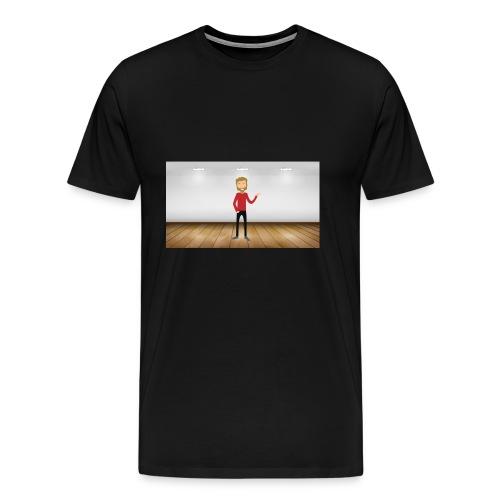 Youtubeman-png - Camiseta premium hombre