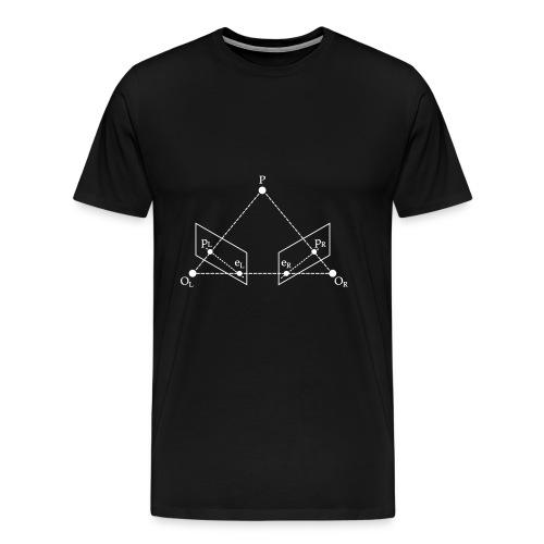Epipolar Geometry Running - Premium-T-shirt herr