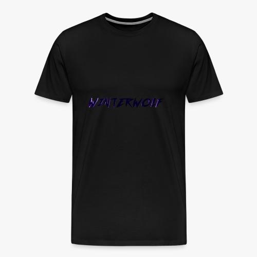 Official WINTERWOLF Season V logo - Mannen Premium T-shirt