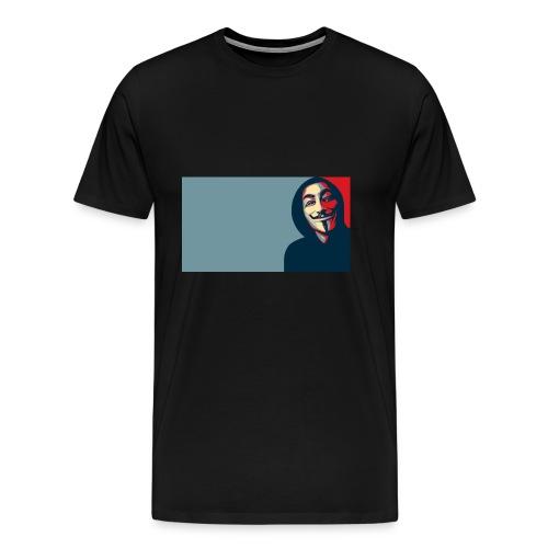 Anonymous - Camiseta premium hombre