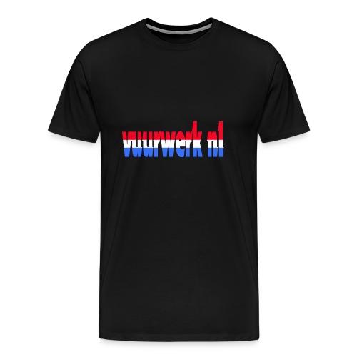 vuurwerk nl fan kleding - Mannen Premium T-shirt