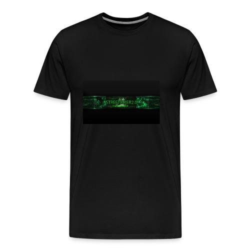 Streetbiker logo - Männer Premium T-Shirt