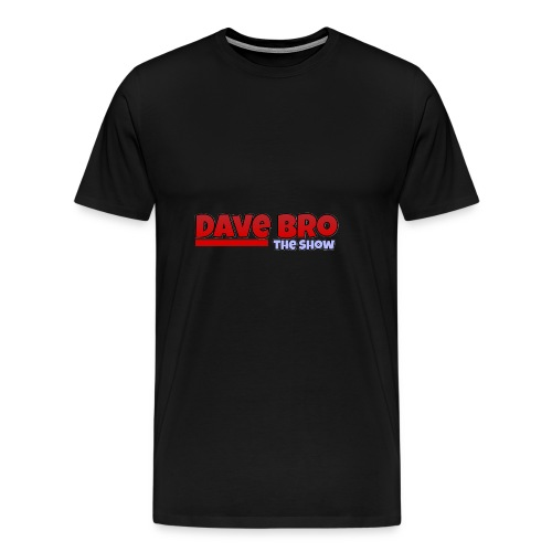Dave Bro Logo - Männer Premium T-Shirt