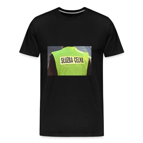policja - Koszulka męska Premium