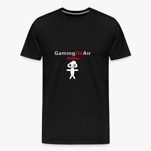 Goa Glitch Figur - Männer Premium T-Shirt