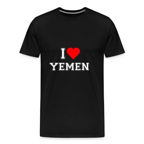 I love Yemen - Männer Premium T-Shirt
