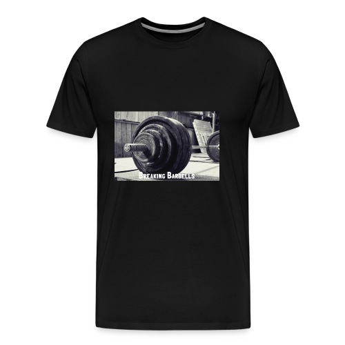 Breaking Barbells - Men's Premium T-Shirt