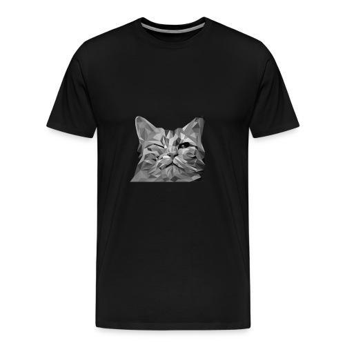 zwinkernde Katze - Männer Premium T-Shirt