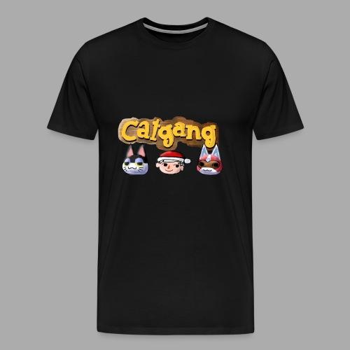 Animal Crossing CatGang - Männer Premium T-Shirt