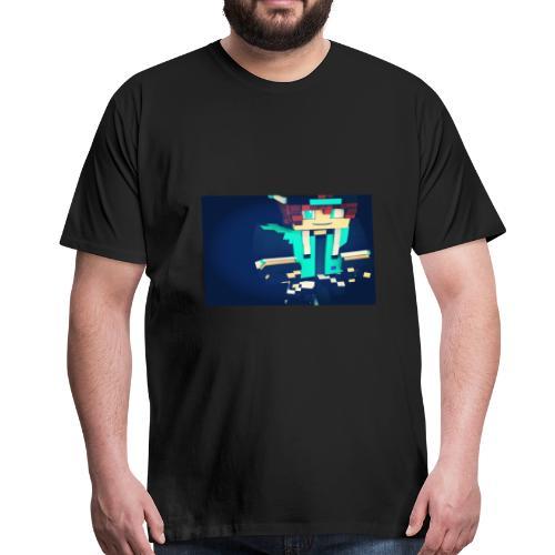 La peau de x9nico en 3D en mode Walden - T-shirt Premium Homme