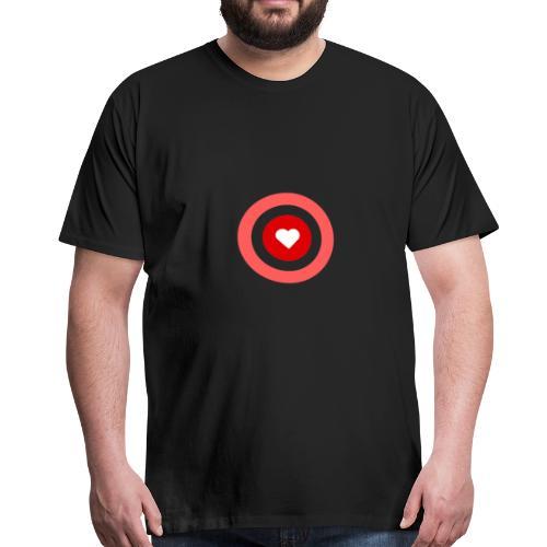 Ein Herz. Ein Ziel. Deine wahren Ziel - Männer Premium T-Shirt