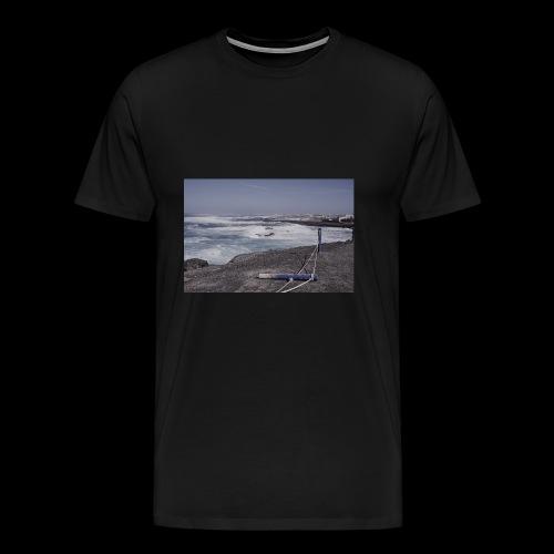 Poller muede - Männer Premium T-Shirt