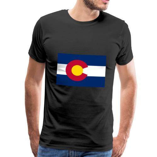 Colorado's flag - Men's Premium T-Shirt