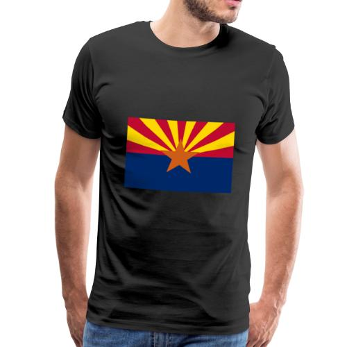 Arizona flag - Men's Premium T-Shirt