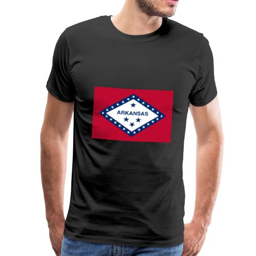 Arkansas flag - Men's Premium T-Shirt