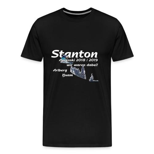 stanton apresski - Männer Premium T-Shirt