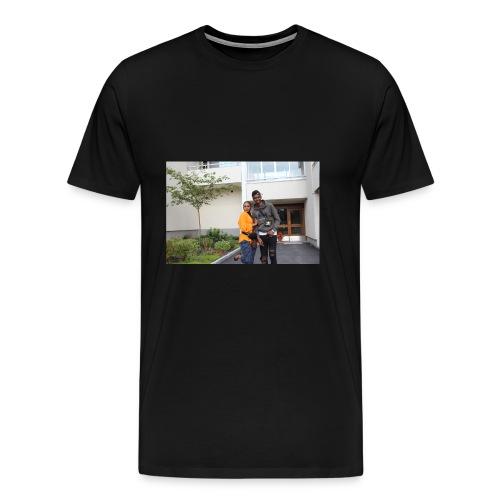 ishaa aziiz - Premium-T-shirt herr
