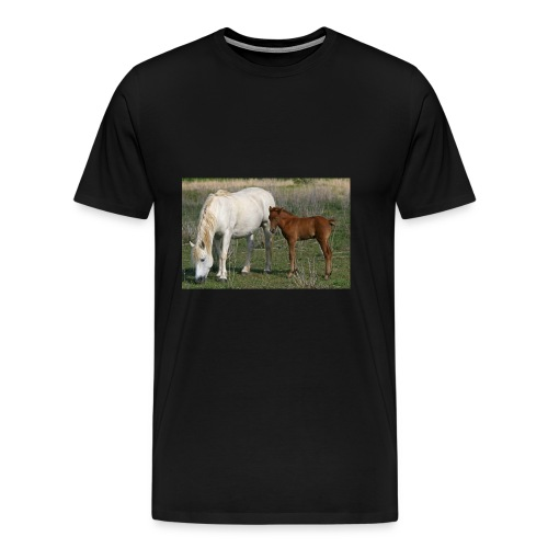 poulain sa mere - T-shirt Premium Homme