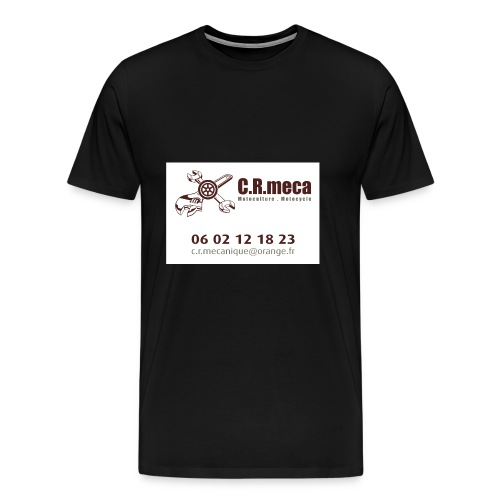 PUB EXT CRmeca - T-shirt Premium Homme