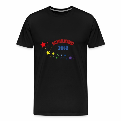Schullkind 2018 - Männer Premium T-Shirt