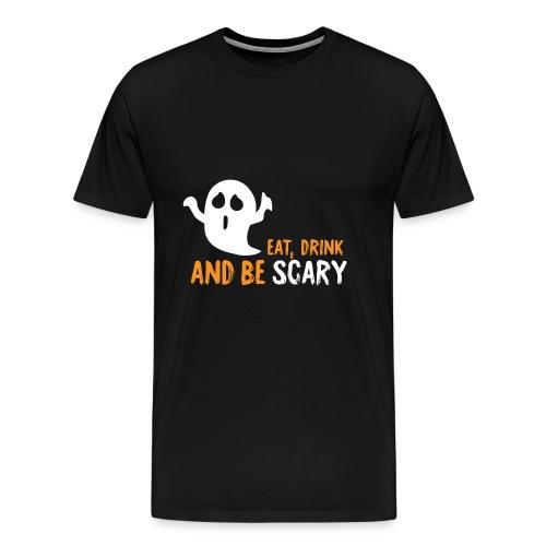 Geist Halloween - Männer Premium T-Shirt