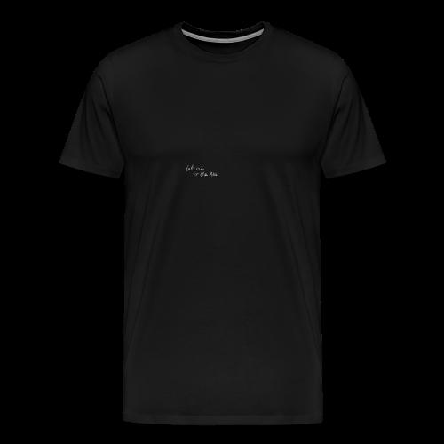 take me to the sea - Männer Premium T-Shirt