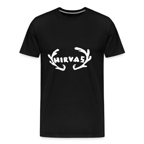 Hirvas vaalea - Miesten premium t-paita