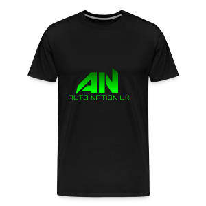 Electric Green - Original Logo - Men's Premium T-Shirt