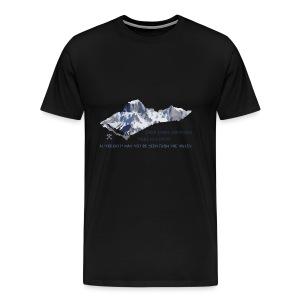 Oltre tutte le montagne... - Maglietta Premium da uomo