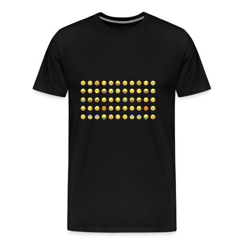 emoji bomb - Männer Premium T-Shirt