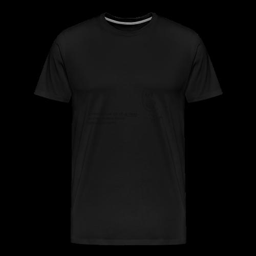 Villi_ja_v--synyt-png - Miesten premium t-paita