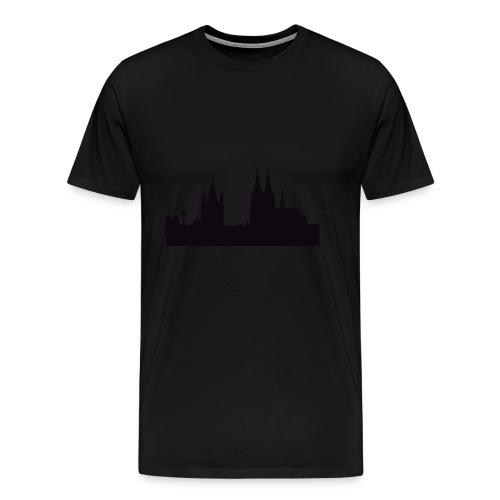 Köln Silhouette - Männer Premium T-Shirt