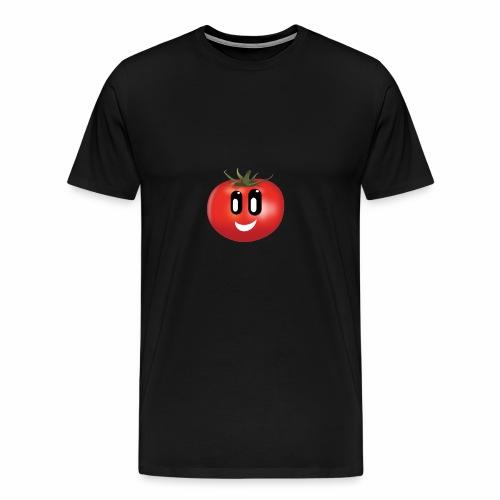Lachende Tomate - Männer Premium T-Shirt