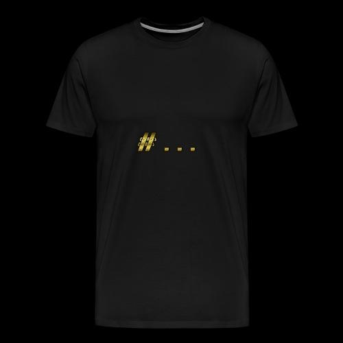 HashTag - Maglietta Premium da uomo