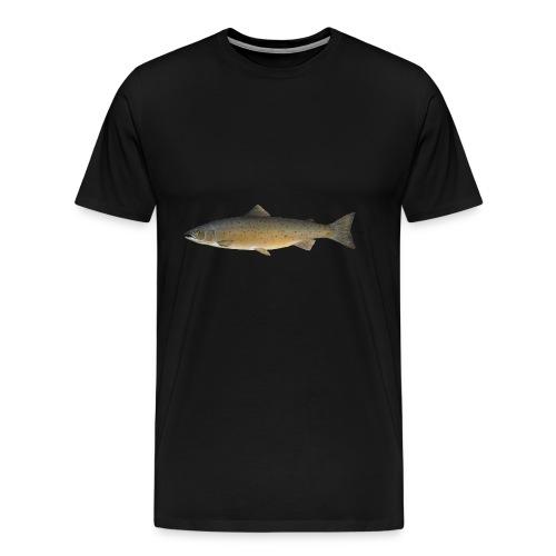 Zielfisch Lachs - Männer Premium T-Shirt
