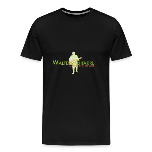 Walters Gitarrl - Männer Premium T-Shirt