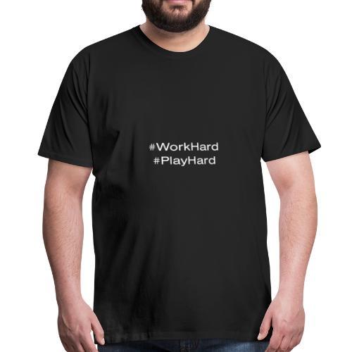 Find Balance By WorkHard PlayHard - Men's Premium T-Shirt