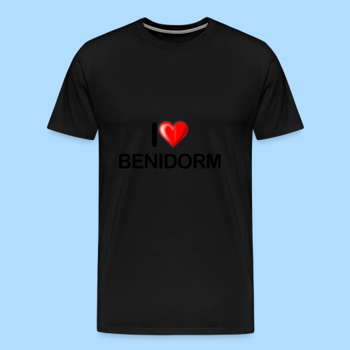 I love benidorm - Men's Premium T-Shirt