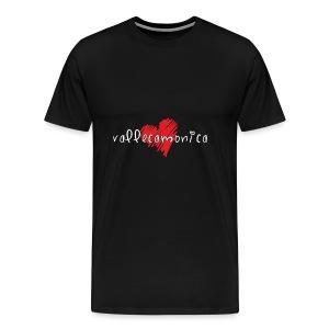 Amo la Vallecamonica - Maglietta Premium da uomo