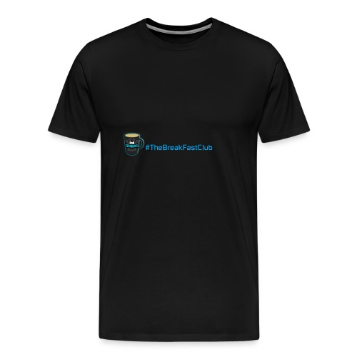 mug plus text - Men's Premium T-Shirt