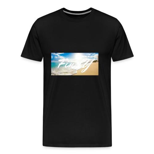 FinlY Beach - Men's Premium T-Shirt