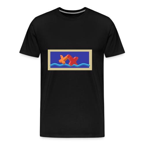 2CrossoverWater - Männer Premium T-Shirt