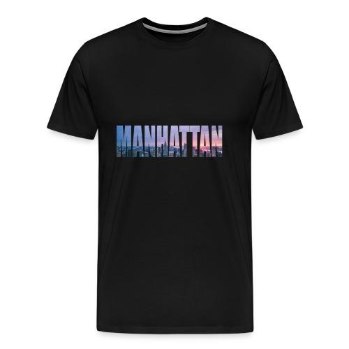 MANHATTAN - Männer Premium T-Shirt