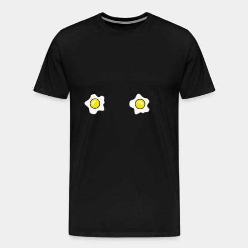 T SHIRT OEUF AU PLAT - T-shirt Premium Homme