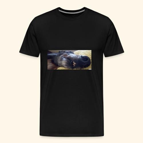 Greyhound head - Men's Premium T-Shirt