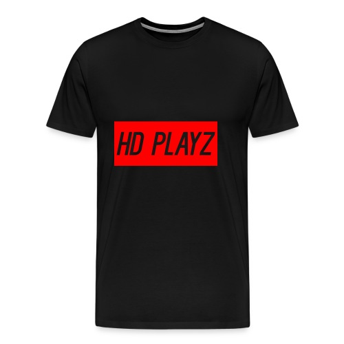 HD Playz DESIGN - Premium T-skjorte for menn