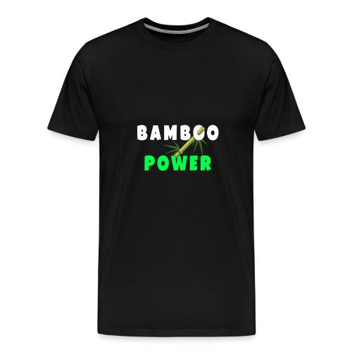Bamboo Power T-shirt - Mannen Premium T-shirt