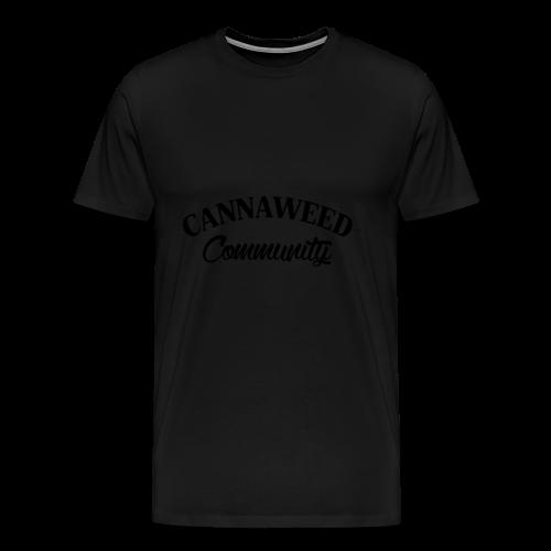 noir sur blanc CWD Communauté - T-shirt Premium Homme